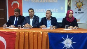AK PARTİ ARİFİYE'DE 40.İLÇE DANIŞMA MECLİS TOPLANTISI…