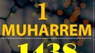 1 MUHARREM 1438 HİCRİ YILBAŞI