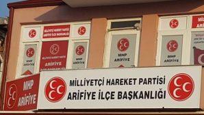"""MHP ARİFİYE İLÇEDEN """"TEŞKİLATÇILIK SEMİNERİ"""""""