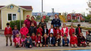 Bekir Sıtkı'nın Minikleri Trafik Parkta Hem Eğlendiler Hem Öğrendiler