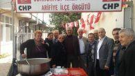 CHP ARİFİYE'DEN AŞURE İKRAMI