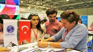 SAKARYA ÜNİVERSİTESİ AZERBAYCAN'DA EĞİTİM FUARINA KATILDI