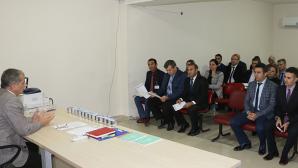 """SKHB'ye bağlı""""Basın İletişim Birimi""""personeline yönelik eğitim semineri düzenlendi."""