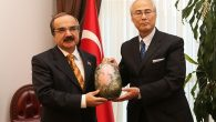 Japonya İstanbul Başkonsolosu Sayın Ehara Vali Coş'u Ziyaret Etti
