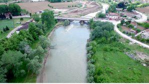 Sakarya Nehri'nin Yatak Genişliği 50 Metreye Çıkıyor.