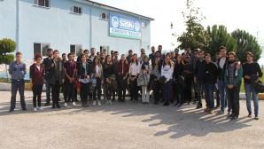 SAÜ Makine Mühendisliği Topluluğu öğrencileri SASKİ'nin tesislerini ziyaret etti.