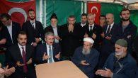BBP Genel Başkanı Mustafa Destici Taziye İçin Arifiye'ye Geldi