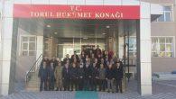 DERİK'İN GÖNÜLLÜ KAYMAKAMI HAKAN KAFKAS TORUL'A VEDA ETTİ