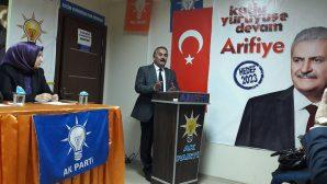 AK PARTİ ARİFİYE 42.İLÇE DANIŞMA MECLİS TOPLANTISI YAPILDI