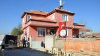 Şehit Kaymakamımız Safitürk'ün eşyaları,eşinin memleketi Akşehir'e getirildi