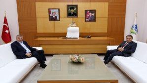 Başkan Toçoğlu İl Emniyet Müdürü Eyüp Pınarbaşı ile bir araya geldi