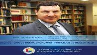Prof. Dr. Kerem Alkin SATSO'da.