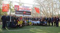 """Vali Hüseyin Avni Coş """"Şehit Ast. Ömer Halisdemir"""" kupa törenine katıldı."""