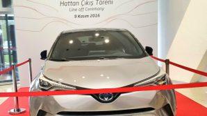 Toyota C-HR seri üretimine başladı