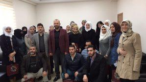 Büyükşehir Belediyesi bürokratları mülteci öğretmenleri unutmadı.