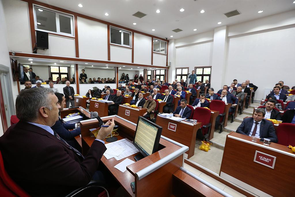 Büyükşehir Belediyesi Kasım Ayı Olağan Meclis Toplantısı