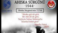 """""""1944 Ahıska Sürgünü""""Sakarya'da anılıyor"""