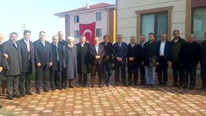 SGK Emekli Hizmetleri Müdürü Şehid Kaymakamımızın Arifiye'deki evini ziyaret etti