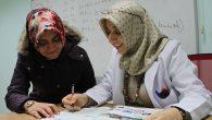 SAMEK'te Türkçe öğreniyorlar