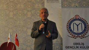 Sofuoğlu'undan Bilecik'te 'Ortadoğu ve Ümmetin Dirilişi' konulu konferans