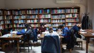 Faik Baysal Kütüphanesi'ne öğrencilerden yoğun ilgi