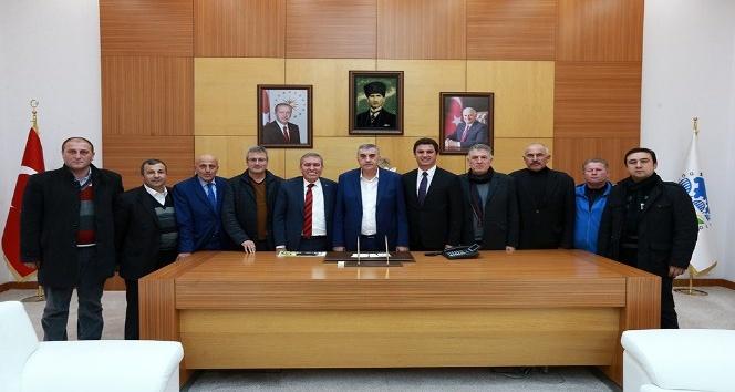 ASKF Zeki Toçoglu'nu ziyaret etti