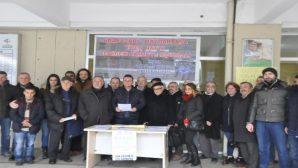 """""""Ada Treni"""" imza kampanyası devam ediyor."""