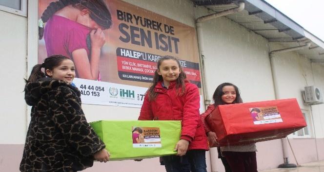 Halep'teki çocuklara anlamlı yardım