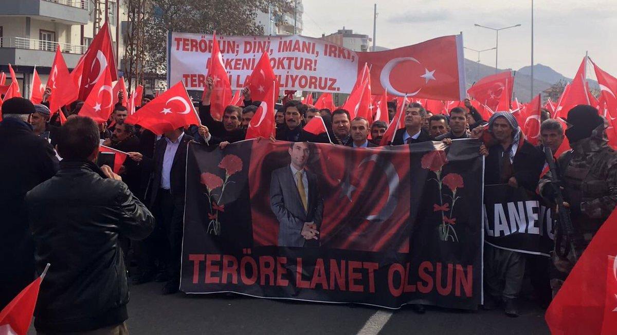 DERİK'TE HUZUR VE KARDEŞLİK MİTİNGİ
