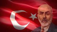 İstiklal Şairimizi vefatının 80. Yıl dönümünde rahmetle anıyoruz