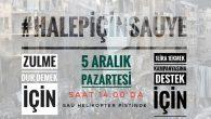 HALEP ZULMÜNE TEPKİ BULUŞMASI SAÜ'DE