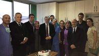 Toyotasa'da Anestezi Ekibine Sürpriz Kutlama