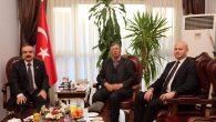 15 Temmuz'un Başkahramanı Şehit Astsubay Ömer Halisdemir'in Babasından Vali Coş'a Ziyaret