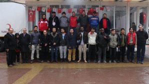 Gençlik Merkezinden Türk Kızılayına Destek
