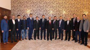 MÜSİAD Sakarya'dan Vali Coş'a ziyaret