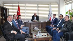 SGK İl Müdürü TÜMSİAD'ı ziyaret etti.