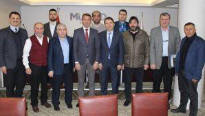 Sakarya Amatör Futbolcular Derneği'nden MÜSİAD Sakarya Şubesi'ne ziyaret…