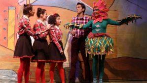 Çocuklar tiyatro günlerinde buluştu