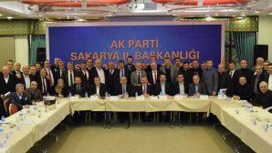 Başkan Karakullukçu AK Parti Sakarya İl Başkanlığı İstişare toplantısında