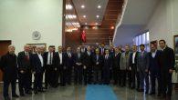 Siirt Belediye Başkanlığı Kayyum Heyeti Vali Coş'u Ziyaret Etti