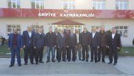 Ak Parti Arifiye İlçe Teşkilatından Kaymakamımıza Ziyaret