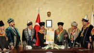 Türkiye-Türk Dünyası Yörük Türkmen Teşkilatlarından Vali Coş'a Destek
