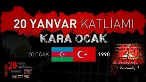 20 Ocak Bakü Katliamı'nın Üzerinden 27 Yıl Geçiyor!