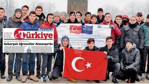 ARİFİYE'Lİ ÖĞRENCİLER AVRUPA'DA HABER OLDULAR