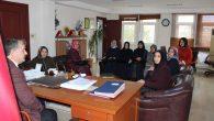 Ak Parti Arifiye Kadın Kolları,Başkanı makamında ziyaret etti