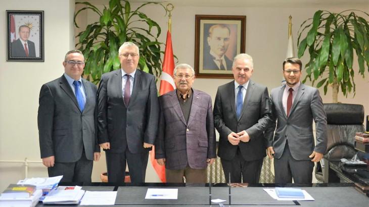 İbn-i Haldun Üniversitesi'nden Ziyaret