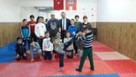 Arifiye Halk Eğitim Merkezi Müdürü Karate Kursunda