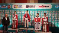 Arifiye Atılgan Spor Kulübünden Eslem Ceren YILMAZ Kürsüde