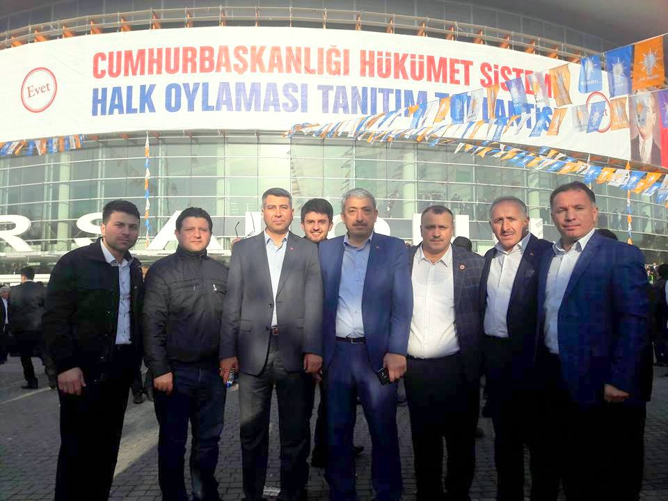 AK PARTİ ARİFİYE ANKARA'DA TANITIM TOPLANTISINDA