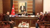 Polis Memuru Soner Tiryaki'den Vali Coş'a Teşekkür Ziyareti